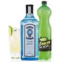 kit gin lemon con Bombay