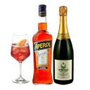 """kit Spritz Campari con Franciacorta """"IL MOSNEL"""""""